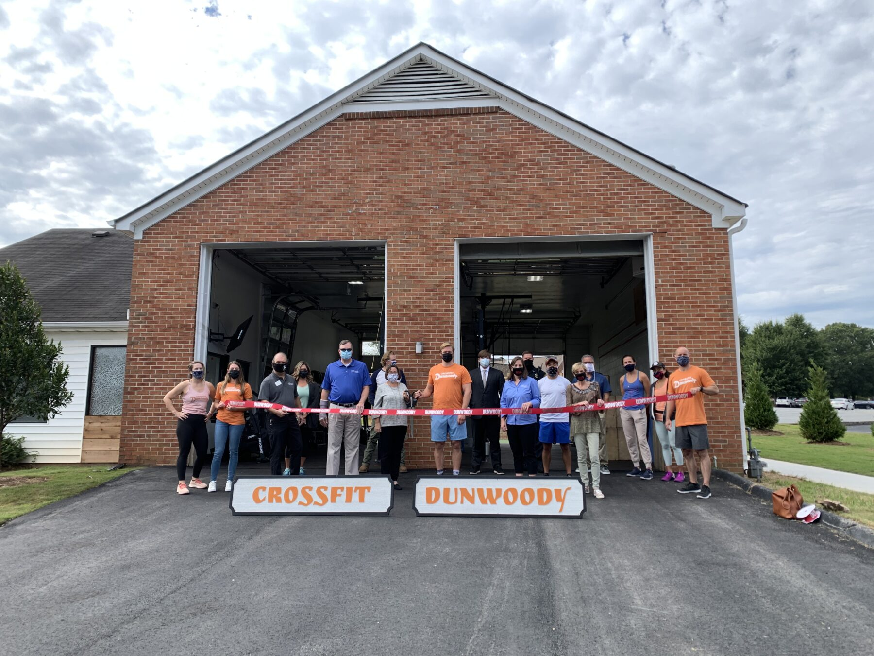 City of Dunwoody Celebrated CFD's Grand Opening with Ribbon Cutting